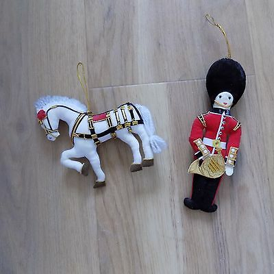 Soldier and Horse Soft Hanging Ornaments