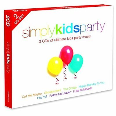Simply Kids Party by Various Artists New Music CD