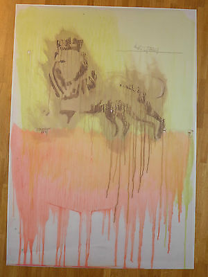 Peter Doig LOYALITY (Odillon Lion) 2013 SIGNED PIGMENT PRINT 50 copies only