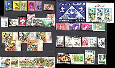 Boy Scouts Collection All Mint Never Hinged  Very Fine      (R10)