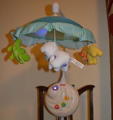 Fisher Price Precious Planet 2 in 1 Projection Cot Crib Mobile.