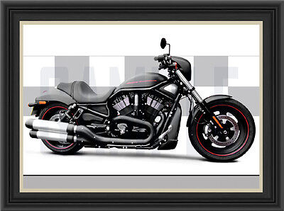 Harley Davidson Night Rod Special Motorcycle Print / Poster