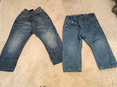 Baby Boys Next Jeans (2 Pairs), Both Worn A Few Times Only