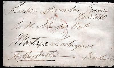 GB 1818 Free Frank Front signed Arthur ONSLOW  MP Guildford
