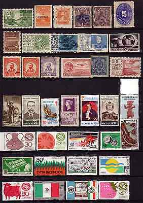 Mexico Mostly U/m Selection Of Stamps...