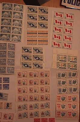 Canada Blocks of stamps 5 Photos