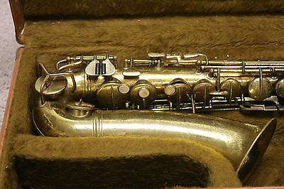 Vintage Conn Pan American Alto Saxophone with case L49914 Serial number