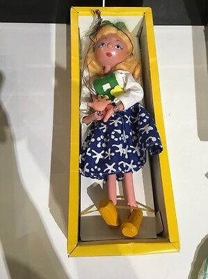 Pelham Puppet Tyrolean Girl With Original Box