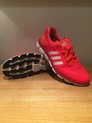 adidas Climacool trainers, red, size 8.5
