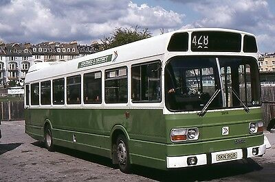 Original Bus Slide hastings and District National 3910 SKN910R