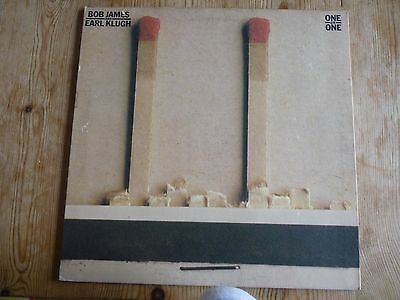 Bob James and Earl Klugh vinyl LP One On One plays EX US press gatefold