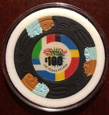 Sands Casino Chip $100 -Las Vegas - RARE