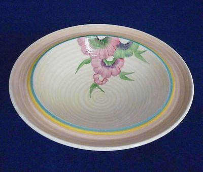 CLARICE CLIFF WILKINSON BOWL IN THE LYNTON SHAPE - Art Deco