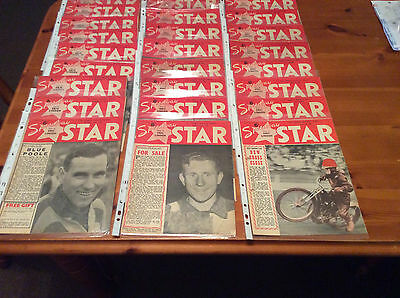 1953 Speedway Star's 42 In Total      ( Good Condition )