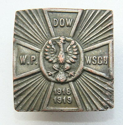 """1920 Commemorative Badge """"Headquarters of The Polish Army East"""""""