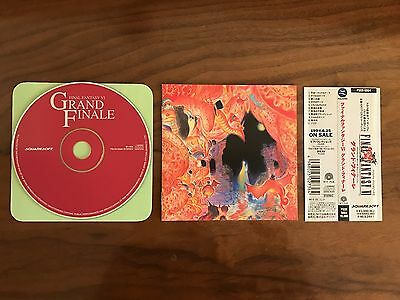 FINAL FANTASY VI GRAND FINALE - Game Music CD - FIRST PRINT with obi, no case