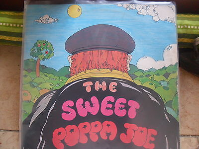 THE SWEET - POPPA JOE - ULTRARARE LP - ITALY!! Look!!!