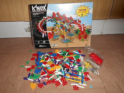 K'nexosaurus Rex Building Set ~ With A Motor ~ But Is Incomplete.