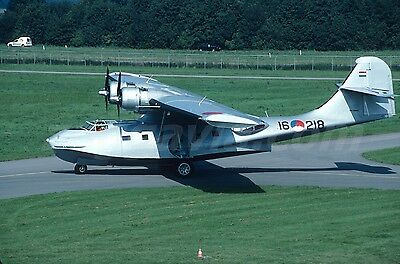Original slide 16-218 PBY-4 Catalina Netherlands Air Force, 2005