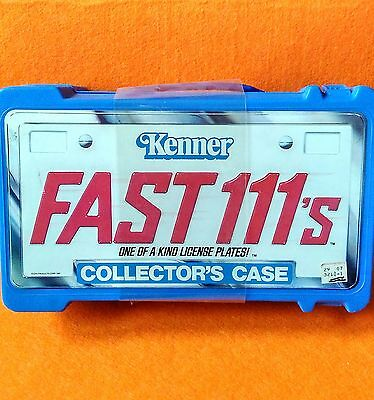 Brand New Sealed Rare 1981 Kenner Fast 111's Carry Case Bargain Price
