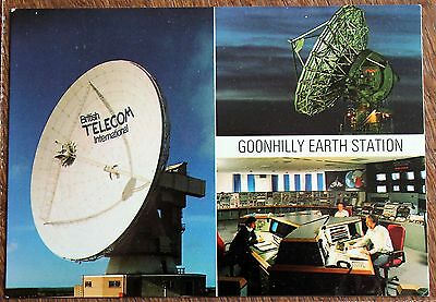 Postcard of Goonhilly Satellite Tracking Station, 1988 – Unposted – BT Card (Se2