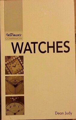 VINTAGE WATCH ID VALUE GUIDE COLLECTOR'S BOOK 900+ Color Photos