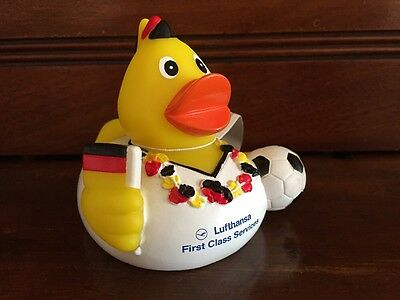 Lufthansa First Class Terminal Duck Euro Soccer Limited Edition New