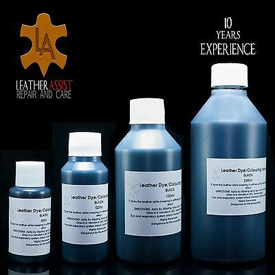 Black Leather Colour Dye Paint Stain Refreshing Manufacturing Recolouring Design