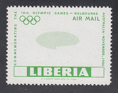 Liberia # C104 Proof From EA Wright Co. Archive Lot Melbourne Olympics