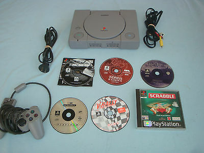Playstotion 1 Console & Controller,Memory Card,6 PS1 Games Bundle, Melbourne