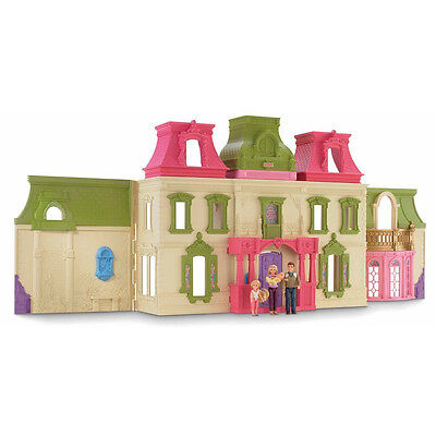 New Childs Girls Fun Games Play Fisher Price - Loving Family - Dream Dollhouse