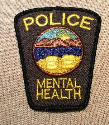 OH Vintage Ohio State Mental Health Police Patch
