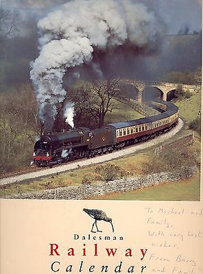 Two Wall Calendars of Railways in Great Britain by Dalesman - 1996 & 1997