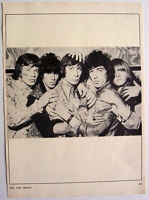 THE ROLLING STONES 1968 poster type Advert