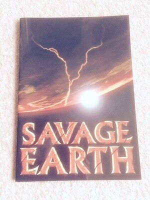 Savage Earth Television Series Accompanying Booklet