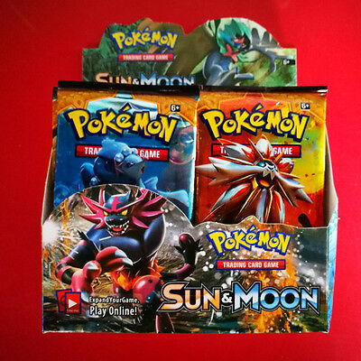 New 324PCS PokemXX English Edition TCG Game Cards Box 36 packs Pocket Monster