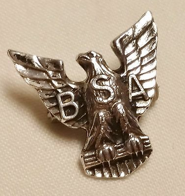 Vintage Boy Scouts Of America 925 Sterling Silver Eagle Pin