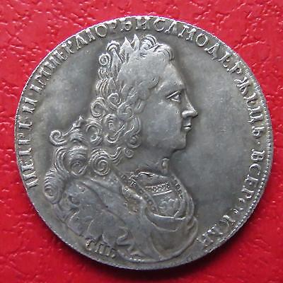 Russia Russian Peter The 2nd Moheta Medal Coin F60