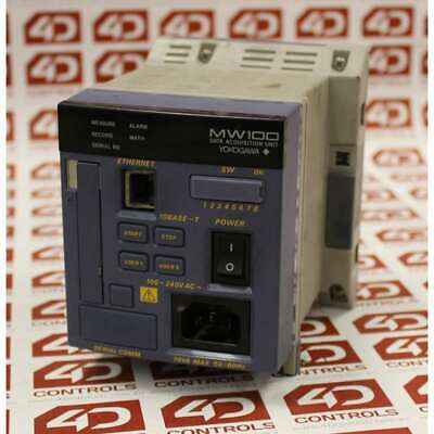 Yokogawa MW100-E-1R MW100 Data Acqusition Unit - Used - Series-s2