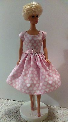 Handmade Vintage Reproduction Barbie Silkstone Barbie Dolls-Pink Hearts