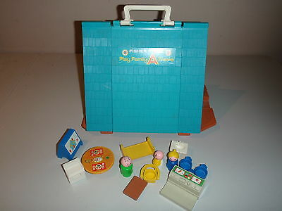 Vintage Fisher Price Play Family A Frame 990