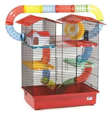 Large Hamster Cage Tower Mice Mouse Wheel House Tube 100ml Water Bottle Pet
