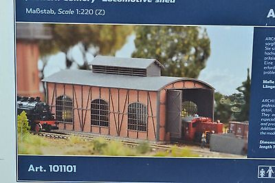 ARCHISTORIES 101101 Engine Shed Building Kit  Z Scale