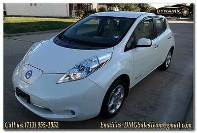 2012 Nissan Leaf SL 2012 NISSAN LEAF SL, NAVIGATION, BACKUP CAMERA, LOW MILES
