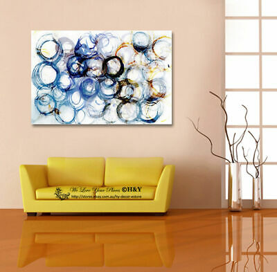 Abstract Dot Pattern Canvas Prints Framed Home Office Decor Wall Art Painting