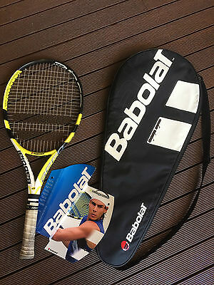 "Great used condition Kids Babolat Aero Pro Drive 26"" Junior Tennis Racquet"