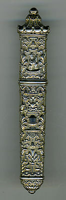Antique French Silver Needle Case, Pagoda