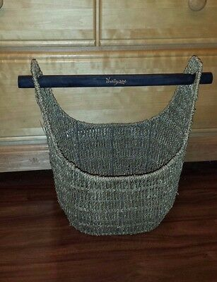 THIRTY ONE ~ Magazine Basket ~ Used for Display Only