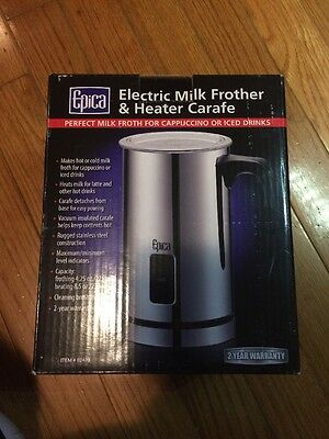 Epica Electric Milk Frother & Heater Carafe