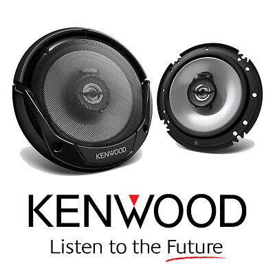 Kenwood Kfc-E1665 300W Suit 6 Or 6.5 Inch 2-Way Speakers 30W Rms Pair Car Stereo